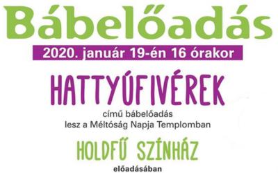 Bábszínház Kispesten 2020. január 19-én 16 órakor